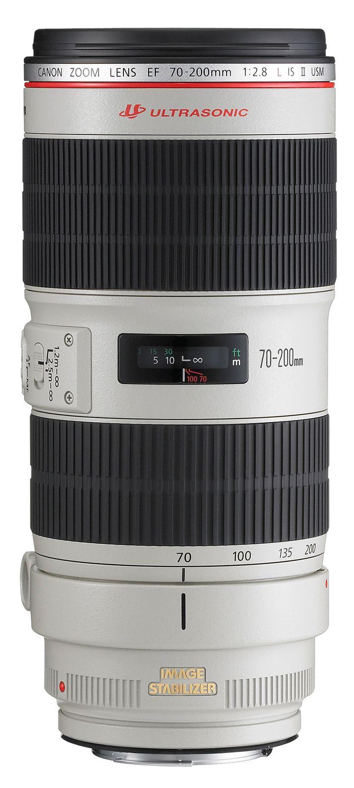 Für weitere Info hier klicken. Artikel: Canon EF 2,8/70-200 L IS II USM Canon EF weiß