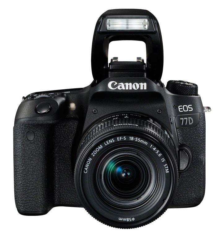 Für weitere Info hier klicken. Artikel: Canon EOS 77D Kit inkl EF-S 4,0-5,6/18-55 mm IS STM