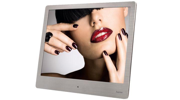 hama digitaler bilderrahmen slim 20 32 cm 8 0 118560. Black Bedroom Furniture Sets. Home Design Ideas