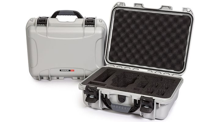 Nanuk Case w/foam insert for DJI Mavic (920-MAV5) silver