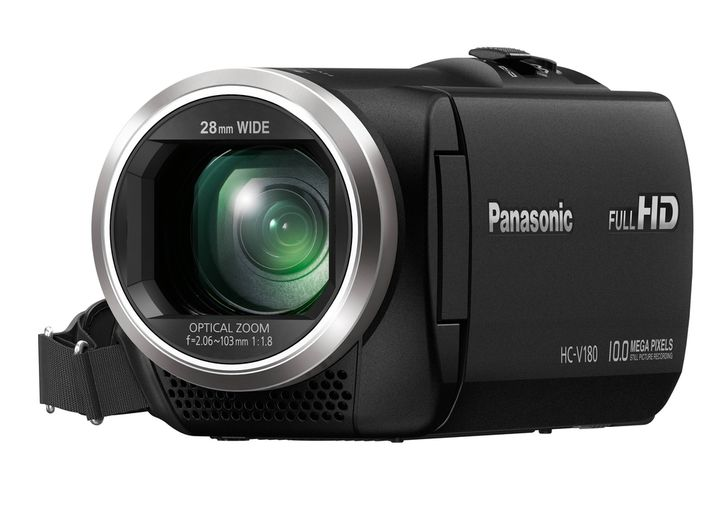 Für weitere Info hier klicken. Artikel: Panasonic HC-V 180 schwarz