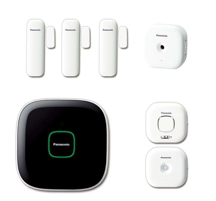 panasonic smart home set f r ihre wohnung. Black Bedroom Furniture Sets. Home Design Ideas