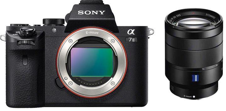 Für weitere Info hier klicken. Artikel: Sony Alpha ILCE-7 II mit 4,0/24-70 schwarz