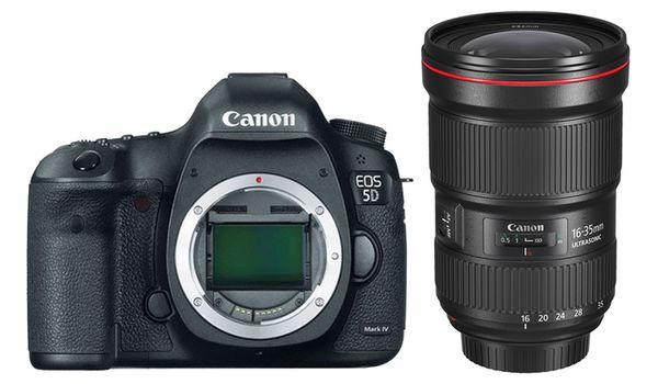 Für weitere Info hier klicken. Artikel: Canon EOS 5D Mark IV, EF 2,8/16-35 L III