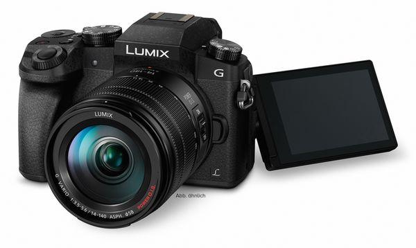 Für weitere Info hier klicken. Artikel: Panasonic Lumix DMC-G70,14-42 schwarz