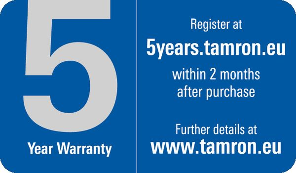 Für weitere Info hier klicken. Artikel: Tamron AF 5,0-6,3/150-600 VC USD Canon EF