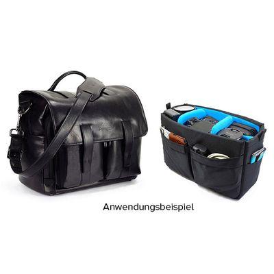 Für weitere Info hier klicken. Artikel: 4V Design Kameratasche Luca schwarz Leder