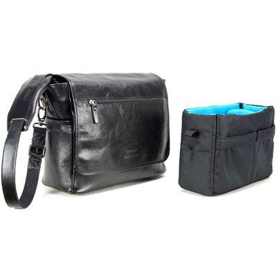 Für weitere Info hier klicken. Artikel: 4V Design Kameratasche Simo schwarz Leder