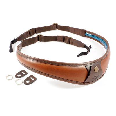 Für weitere Info hier klicken. Artikel: 4V Design Nackengurt ALA TOP Toskana Leder Universal braun-braun
