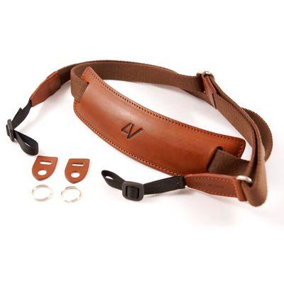 Für weitere Info hier klicken. Artikel: 4V Design Nackengurt Lusso Large Universal braun-braun
