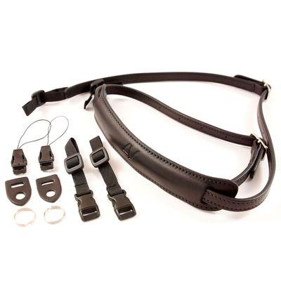 Für weitere Info hier klicken. Artikel: 4V Design Nackengurt Lusso Slim Universal schwarz-schwarz