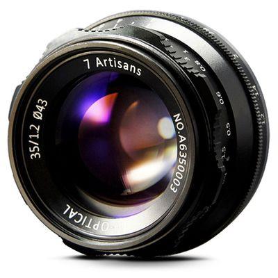 Für weitere Info hier klicken. Artikel: 7Artisans 35mm f/1,2 Fujifilm X