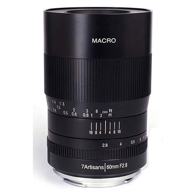Für weitere Info hier klicken. Artikel: 7Artisans 60mm f/2,8 Macro Canon EF-M