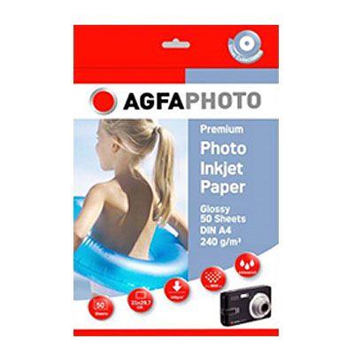 Für weitere Info hier klicken. Artikel: Agfaphoto Premium Papier A4 240g 50 Blatt
