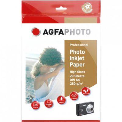 Für weitere Info hier klicken. Artikel: Agfaphoto Professional Papier A4 260g 20 Blatt