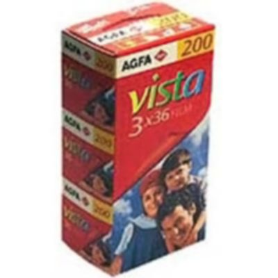 Für weitere Info hier klicken. Artikel: Agfaphoto Vista Plus 200 135/36 3er Pack Kleinbildfilm