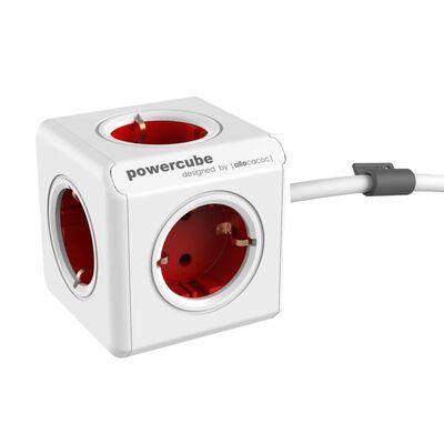 Für weitere Info hier klicken. Artikel: Allocacoc PowerCube Extended 1,5m cable rot