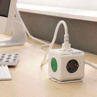 Für weitere Info hier klicken. Artikel: Allocacoc PowerCube Extended +switch DE