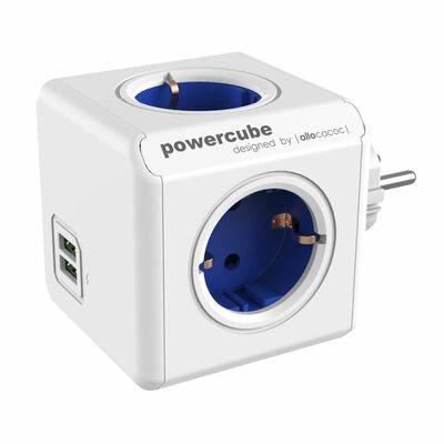 Für weitere Info hier klicken. Artikel: Allocacoc PowerCube Original USB blau