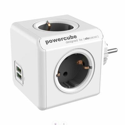 Für weitere Info hier klicken. Artikel: Allocacoc PowerCube Original USB grau