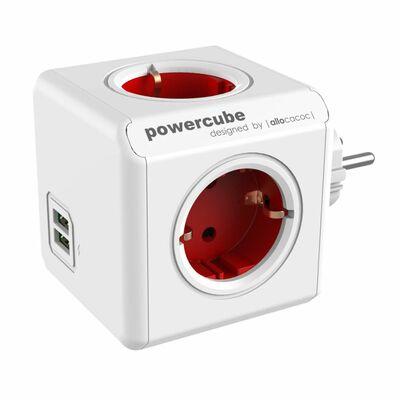 Für weitere Info hier klicken. Artikel: Allocacoc PowerCube Original USB rot