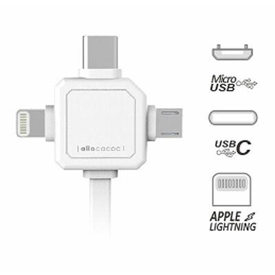 Für weitere Info hier klicken. Artikel: Allocacoc USBcable   USB C grau