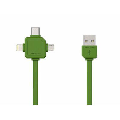 Für weitere Info hier klicken. Artikel: Allocacoc USBcable | USB C grün