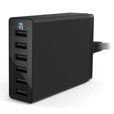 Für weitere Info hier klicken. Artikel: Anker PowerPort 6 with Quick Charge 3.0 EU Black