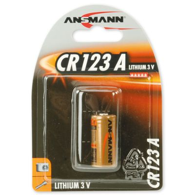 Für weitere Info hier klicken. Artikel: Ansmann Batterie CR123A 1er-Pack