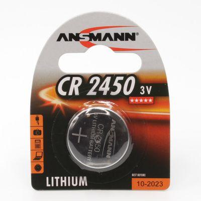 Für weitere Info hier klicken. Artikel: Ansmann Batterie CR2450