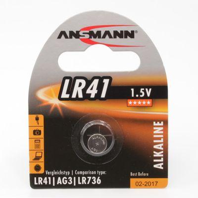 Für weitere Info hier klicken. Artikel: Ansmann Batterie LR41