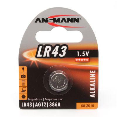 Für weitere Info hier klicken. Artikel: Ansmann Batterie LR43