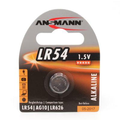 Für weitere Info hier klicken. Artikel: Ansmann Batterie LR54