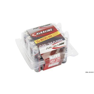 Für weitere Info hier klicken. Artikel: Ansmann Batterie RED Alkaline Micro 20er-Pack