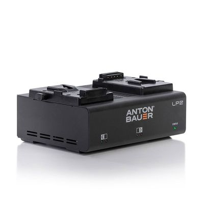 Für weitere Info hier klicken. Artikel: Anton Bauer LP2 Two-Position (Dual) Low Profile Charger V-Mount