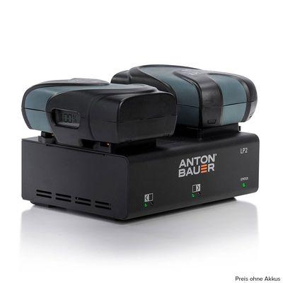 Für weitere Info hier klicken. Artikel: Anton Bauer LP2 Two-Position (Dual) Low Profile Charger Gold-Mount