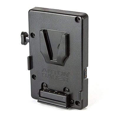 Für weitere Info hier klicken. Artikel: Anton Bauer Universal V-Mount battery bracket with 10amp fuse and 1 PTAP