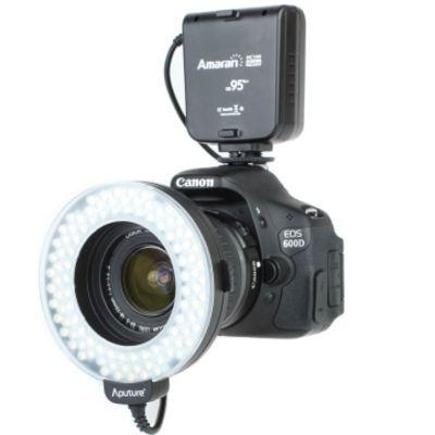Für weitere Info hier klicken. Artikel: Aputure Amaran Halo LED-Ringblitz und Ringleuchte (1020 Lux (50 cm) CRI 95) Canon