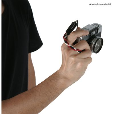Für weitere Info hier klicken. Artikel: Artisan&Artist A&A ACAM-315N, Fingerschlaufe, schwarz-rot-weis