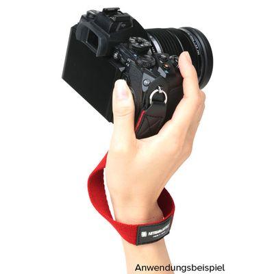 Für weitere Info hier klicken. Artikel: Artisan&Artist Handschlaufe ACAM-295 aus Textil schwarz