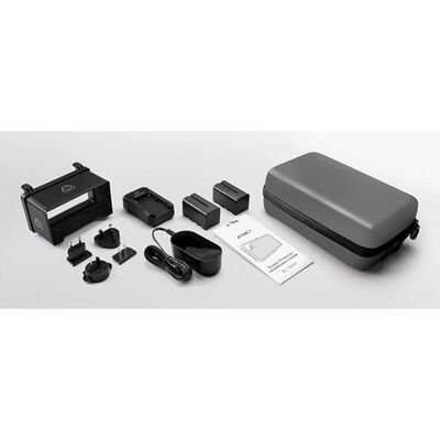 Für weitere Info hier klicken. Artikel: Atomos 5 Accessory Kit, Zubehör-Set inkl. 2x NP-F750 Li-ION Akkus