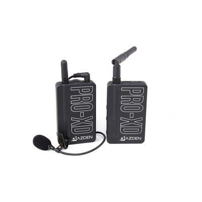 Für weitere Info hier klicken. Artikel: Azden Mikrofon PRO XD 2,4 GHz Digital Wireless
