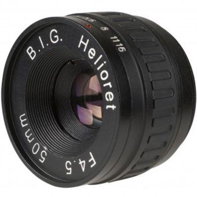 Für weitere Info hier klicken. Artikel: B.I.G. Helioret 50mm f/4,5 Makro Objektivkopf M39