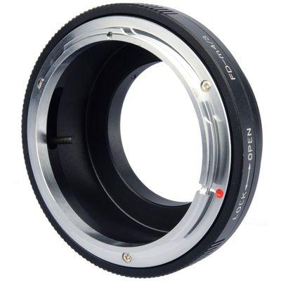 Für weitere Info hier klicken. Artikel: B.I.G. Objektivadapter Canon FD an MFT