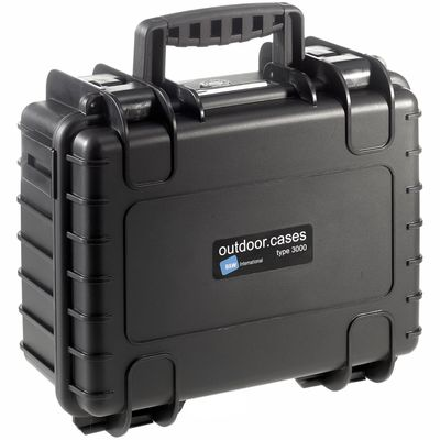 Für weitere Info hier klicken. Artikel: B&W outdoor.case Type 3000 schwarz mit Schaumstoff Inlay