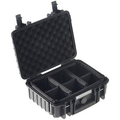 Für weitere Info hier klicken. Artikel: B&W outdoor.cases Type 1000 mit variabler Facheinteilung (RPD) schwarz