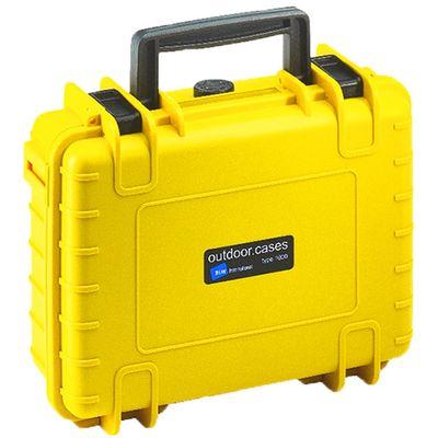 Für weitere Info hier klicken. Artikel: B&W outdoor.cases Type 1000 mit variabler Facheinteilung (RPD) gelb