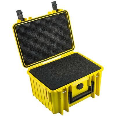 Für weitere Info hier klicken. Artikel: B&W outdoor.cases Type 2000 mit Würfelschaum (SI) gelb