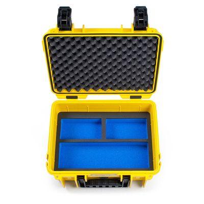 Für weitere Info hier klicken. Artikel: B&W outdoor.cases Type 3000 für GoPro Hero 5 / 6 gelb