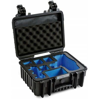 Für weitere Info hier klicken. Artikel: B&W outdoor.cases Type 3000 mit DJI Mavic 2 Pro / Platinum / Fly More Combo Inlay schwarz